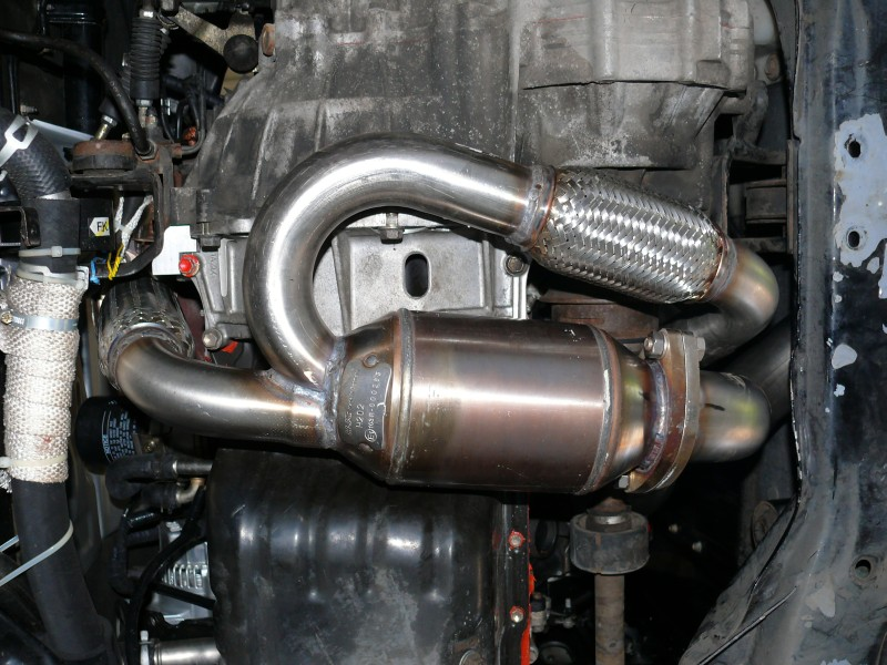 My New 3vz Fe Exhaust System